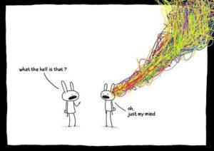 hoofd in chaos- inzicht door ervaring